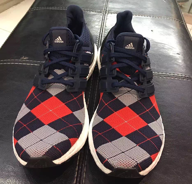 adidas Ultra Boost Argyle Plaid