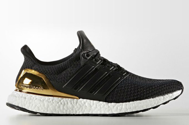 Adidas Ultra Boost Black Gold Sneakerfiles