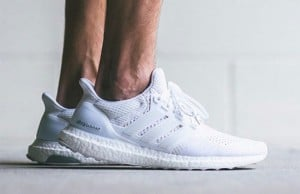 adidas Ultra Boost Triple White Releasing