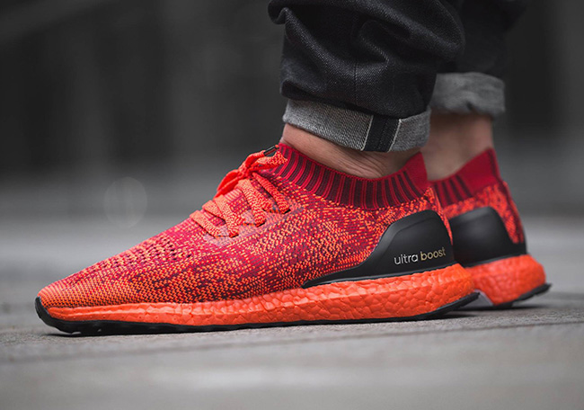 c6b6397ccfb32 50%OFF Closer Look at the adidas Ultra Boost Uncaged Triple Red ...