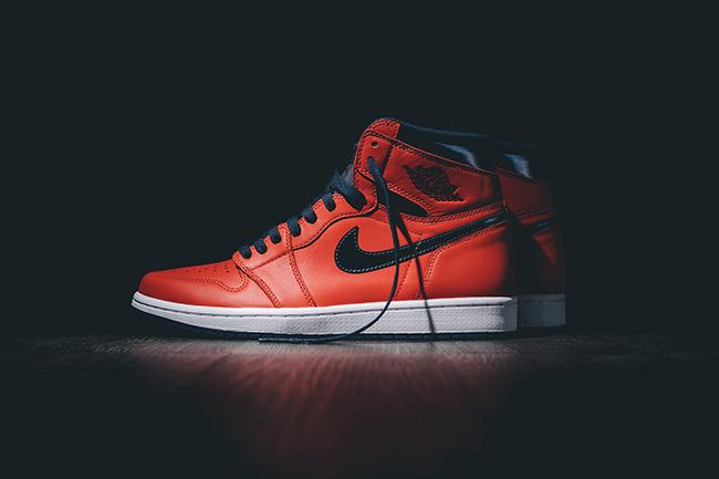 super popular 2f804 b79b8 Air Jordan 1 Retro High OG David Letterman 2016 | SneakerFiles