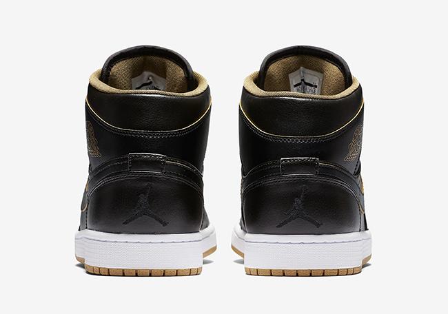 Air Jordan 1 GS Black Gold