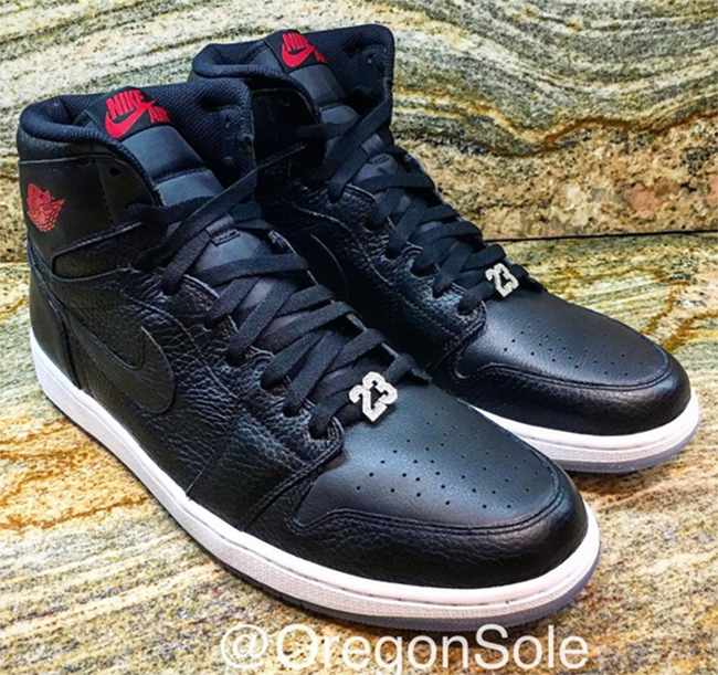 Air Jordan 1 Michael Jordan Exclusive Black Red