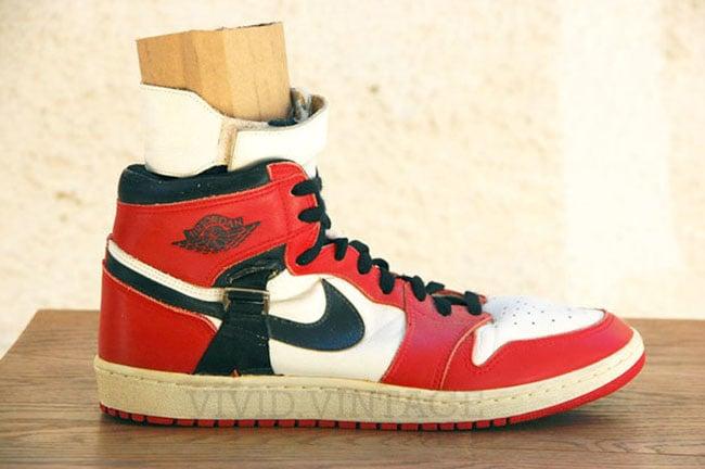 Air Jordan 1 OG Game Worn Strap Harness