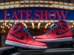 Air Jordan 1 Retro High OG David Letterman Release