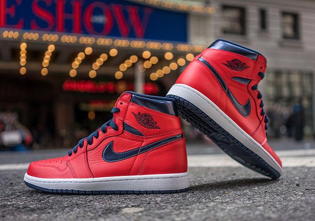 1235cacdeb2 Air Jordan 1 Retro High OG David Letterman 2016 | SneakerFiles