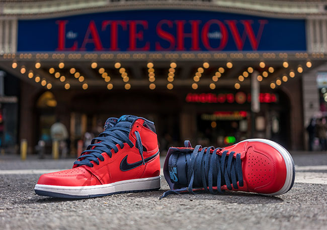 Air Jordan 1 Retro High OG David Letterman Release 611589935