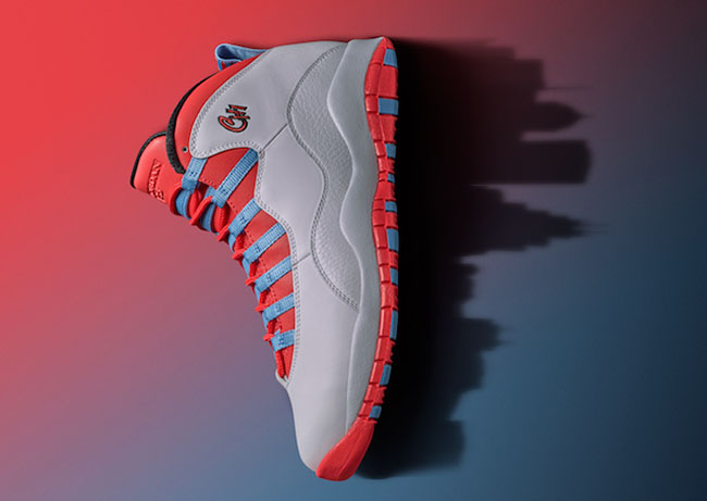Air Jordan 10 Chicago City Pack Retro