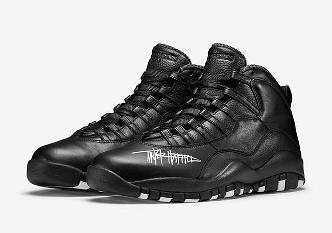 Air Jordan 10 Grimm Black