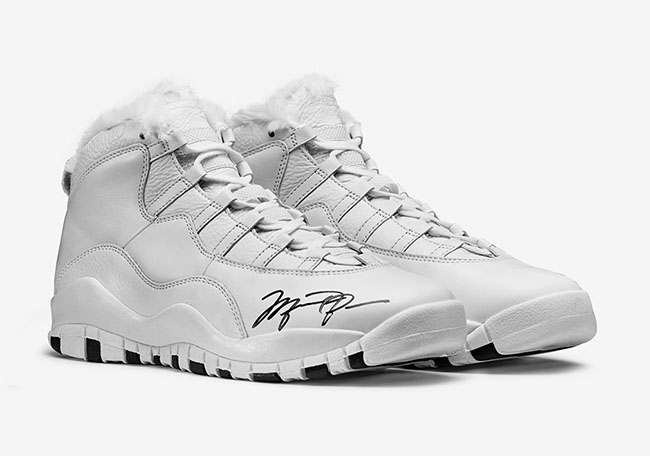 Air Jordan 10 Grimm White