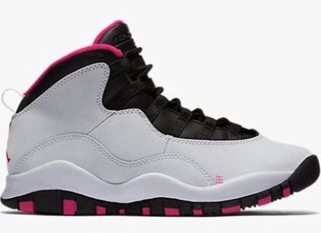54fb37f33f8 Video Air Jordan 10 GS Vivid Pink On Feet outlet - s132716079 ...