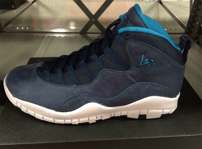 Air Jordan 10 LA City Pack May 2016