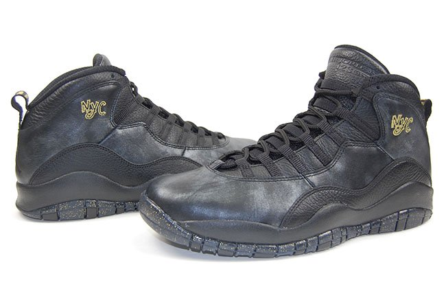 Air Jordan 10 NYC New York City Pack 2016 Review
