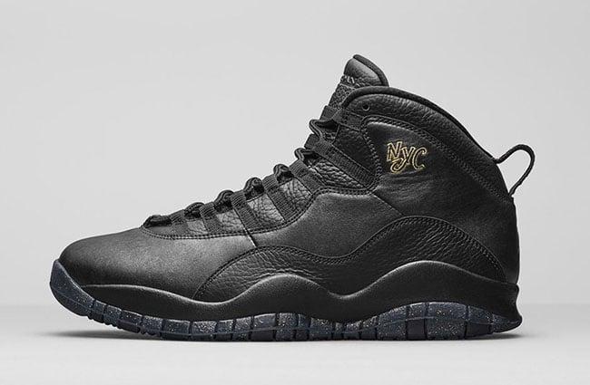 Air Jordan 10 NYC Release Details