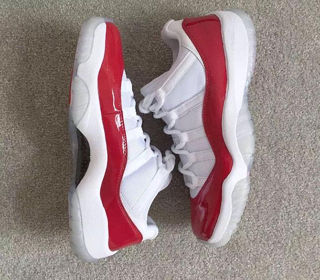 Air Jordan 11 Low Varsity Red 2016