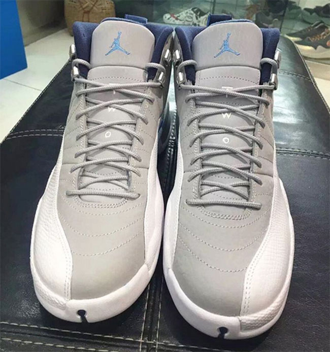 Air Jordan 12 Grey Blue 2016