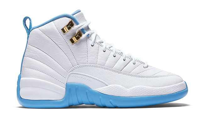 Air Jordan 12 GS University Blue Gold
