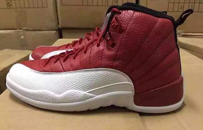 Air Jordan 12 Gym Red White