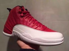 Air Jordan 12 Red White Black