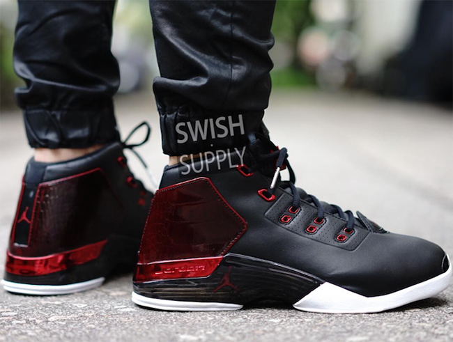 Air Jordan 17 Bulls On Feet