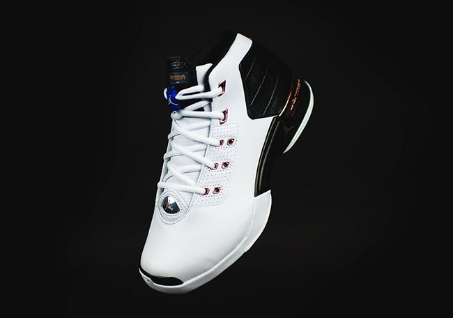 Air Jordan 17 Metallic Copper Retro