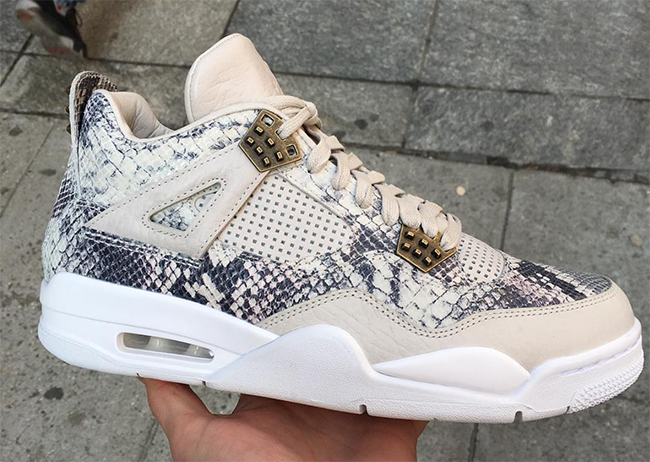 Air Jordan 4 Premium Snakeskin May 2016