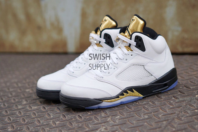 Air Jordan 5 Olympic Gold