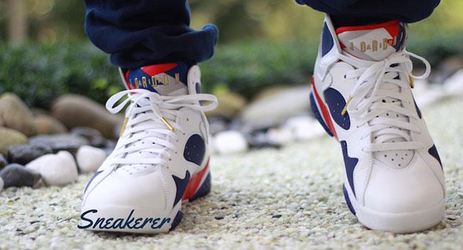 Air Jordan 7 Tinker Alternate On Feet
