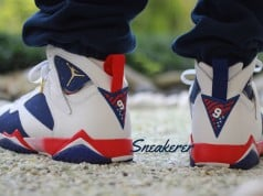 Air Jordan 7 Tinker Alternate On Feet