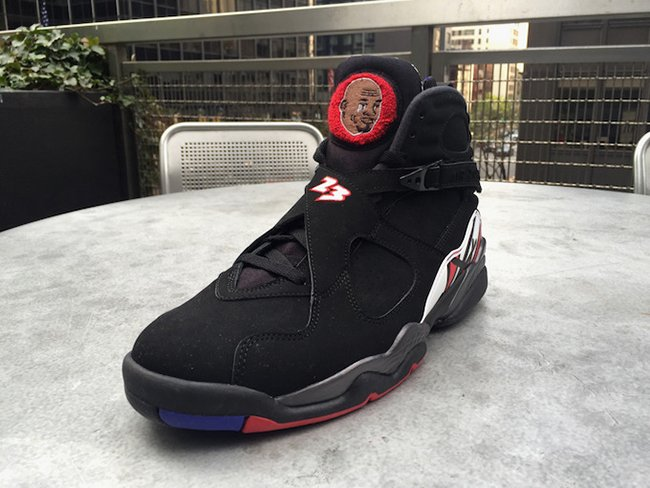 Air Jordan 8 Jordan Crying Face Custom