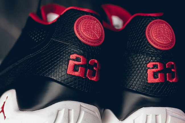Air Jordan 9 Low Chicago Black White