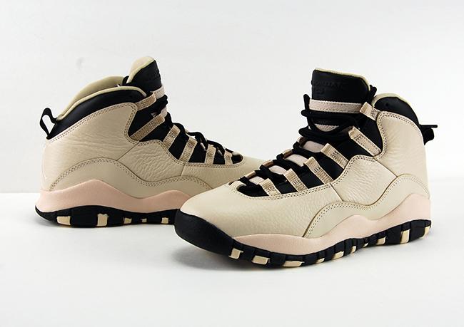 Air Jordan 10 Heiress Pearl White Black Review On Feet