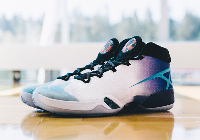 2d8114ef6752e9 outlet Detailed Look at Both Air Jordan XXX Charlotte Hornets PEs ...