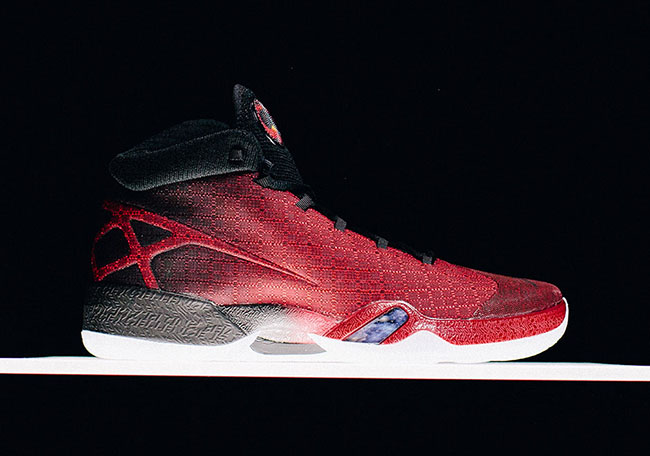 Air Jordan XXX Gym Red Black