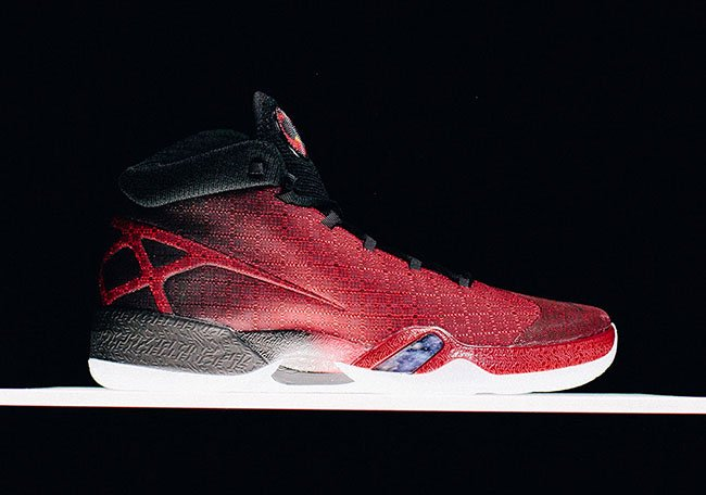 Air Jordan XXX Gym Red Black May 2016