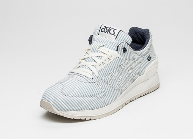 Asics Gel Respector Seersucker Blue White