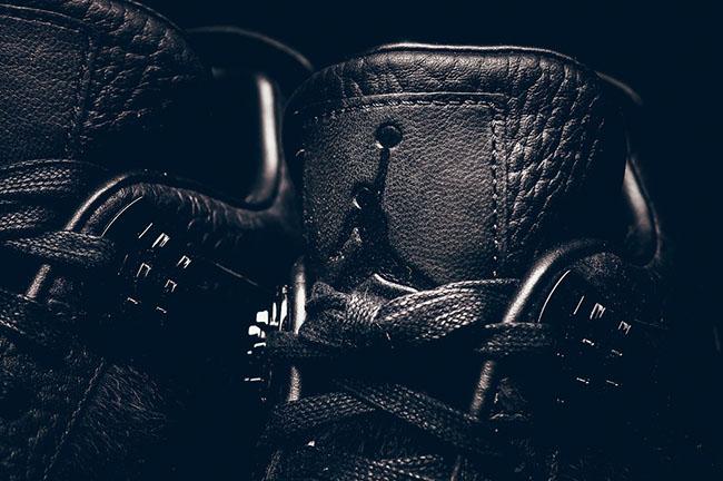 Black Air Jordan 4 Premium Retro