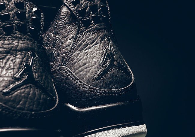 Black Air Jordan 4 Premium Retro