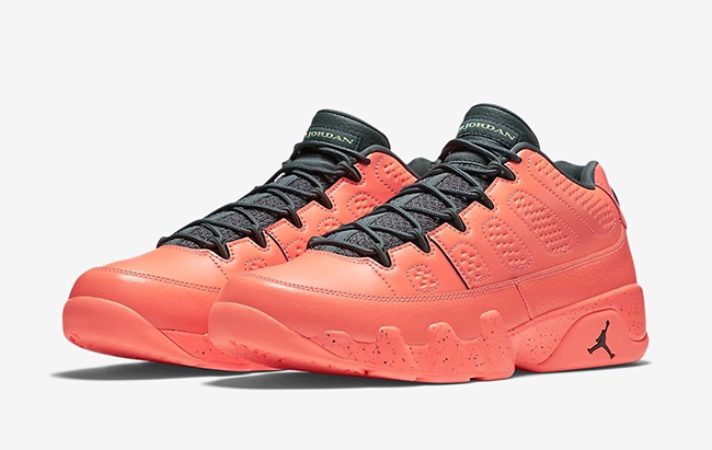 Bright Mango Air Jordan 9 Low