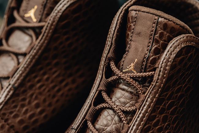 Brown Croc Jordan Horizon
