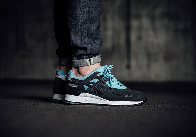 Carpenter Bee SoleBox Asics Gel Lyte III Blue