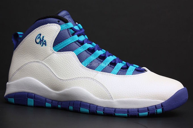 Charlotte Air Jordan 10 City Pack Hornets