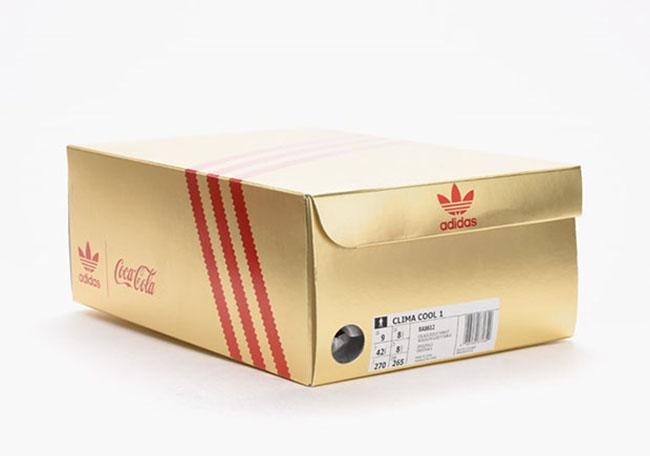 Coca Cola adidas Originals Clima Cool 1 Silver Red