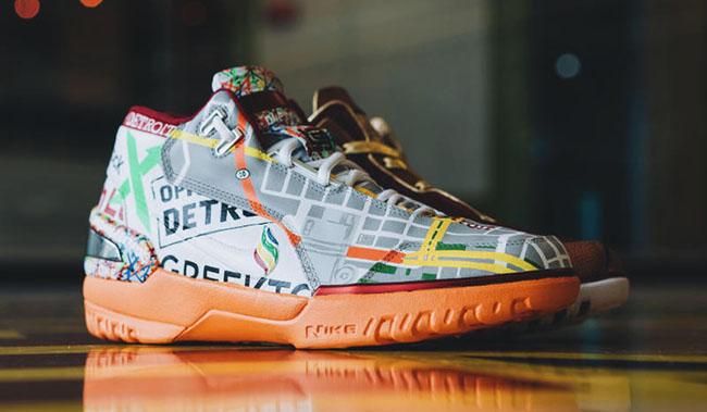 Dan Gilbert Nike LeBron Zoom Generation Custom