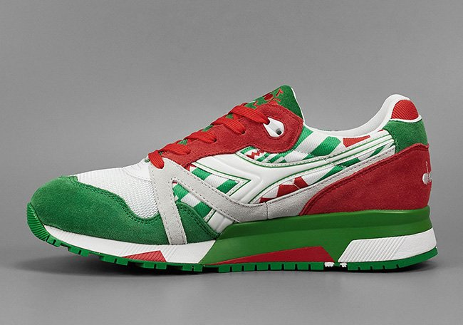 Diadora N9000 Italy USA Flag Pack