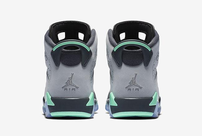 Green Glow Air Jordan 6 GS Retro