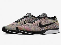 Grey Tongue Nike Flyknit Racer Multicolor 2016