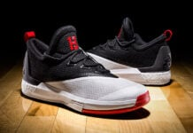 James Harden adidas Crazylight Boost 2.5 Home