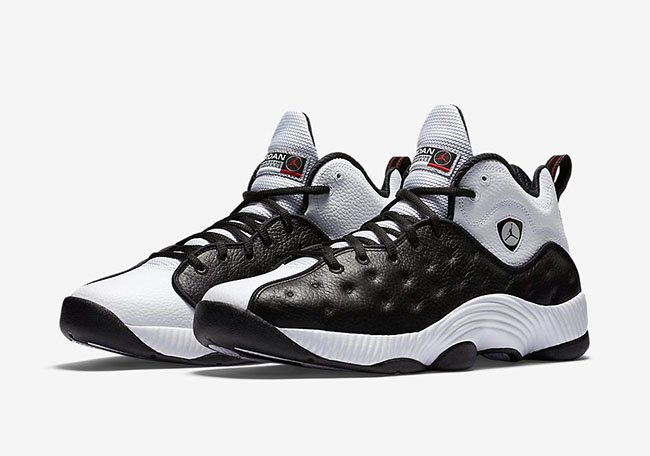Jordan Jumpman Team 2 Black White Chicago Away