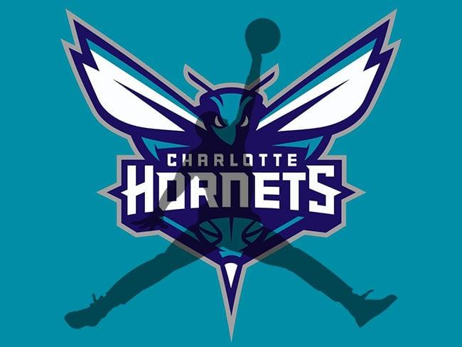 Jordan Logo Charlotte Hornets Jersey | SneakerFiles